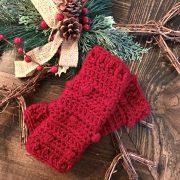 Snow Drifts Leg Warmers crochet pattern by Little Monkeys Designs - holiday gift idea diy