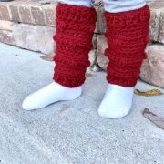 Snow Drifts Leg Warmers crochet patte
