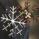 Snowflake Afghan crochet pattern by Little Monkeys Designs - corner to corner blanket pattern