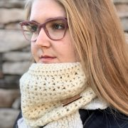Stay Warm Cowl crochet pattern by Little Monkeys Designs - crochet cowl pattern