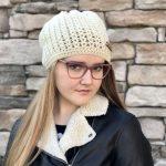 Stay Warm Hat crochet pattern by Little Monkeys Designs
