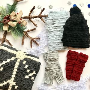 Wrapped up in Warmth Collection of crochet patterns by Little Monkeys Designs - collection of crochet patterns
