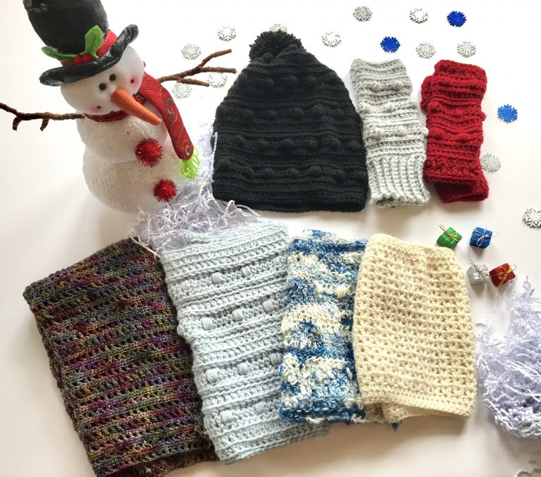 Wrapped up in Warmth Collection of crochet patterns by Little Monkeys Designs - crochet pattern collection