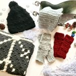 Wrapped up in Warmth Collection of crochet patterns by Little Monkeys Designs - crochet pattern winter collection