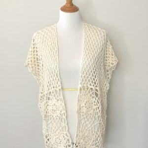Laurie's Cardigan Crochet Pattern by Little Monkeys Designs
