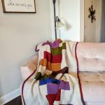 stacked blocks quilt afghan crochet pattern by Little Monkeys Designs