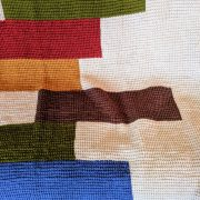 Stacked Quilts crochet pattern by Little Monkeys Designs - Tunisian simple stitch