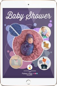 Baby Shower crochet pattern by Pattern Pack Pro