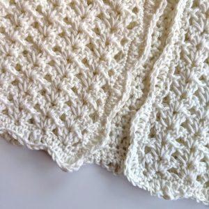 Girls cardigan crochet pattern - Easter Cardigan crochet pattern for girls by Little Monkeys Designs -lacy cardigan for girls