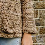 Everyday Cardigan crochet pattern by Little Monkeys Designs