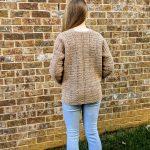 Everyday Casual Cardigan crochet pattern by Little Monkeys Designs