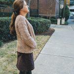 veryday Casual Cardigan crochet pattern by Little Monkeys Designs