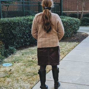 Everyday Casual Cardigan crochet pattern by Little Monkeys Designs - easy cardigan crochet pattern women