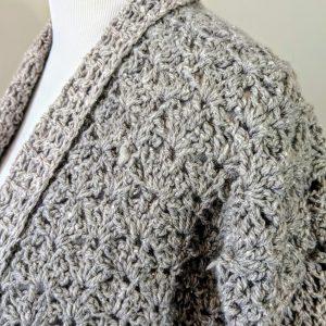 Lacy's Cardigan crochet pattern by Little Monkeys Designs - crochet cardigan - spring cardigan crochet pattern