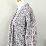 Lacy's spring Cardigan crochet pattern by Little Monkeys Designs - crochet cardigan pattern