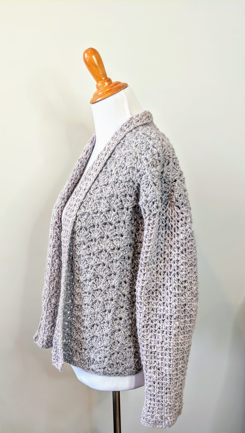 Lacy S Springtime Cardigan Crochet Pattern By Little