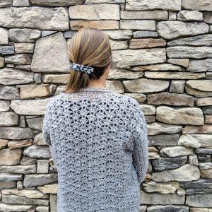 Lacy's spring Cardigan crochet pattern by Little Monkeys Designs - women spring sweater