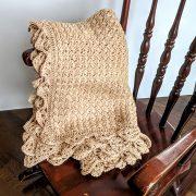 Precious Bundle Baby Blanket crochet pattern by Little Monkeys Designs