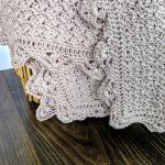 Precious Bundle Baby Blanket crochet pattern by Little Monkeys Designs - spring baby blanket crochet edge