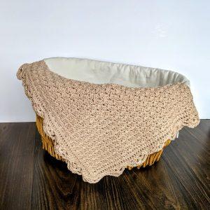 Precious Bundle Baby Blanket crochet pattern by Little Monkeys Designs - spring baby blanket