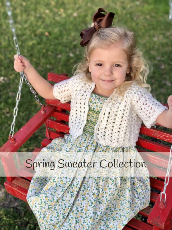 Spring Sweater Collection of Crochet Pattern
