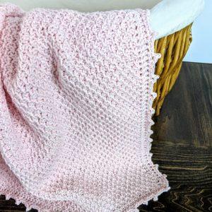 Addies Baby Blanket crochet pattern by Little Monkeys Designs