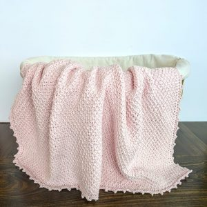 Addies Baby Blanket crochet pattern by Little Monkeys Designs - tunisian crochet baby blanket pattern - baby blanket crochet pattern