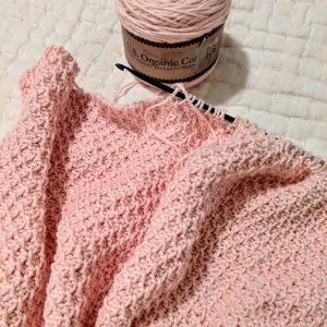 Addies Baby Blanket crochet pattern by Little Monkeys Designs - tunisian crochet baby blanket pattern - baby blanket crochet pattern
