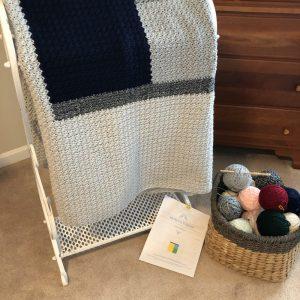 Kemily's Blanket crochet pattern by Little Monkeys Designs