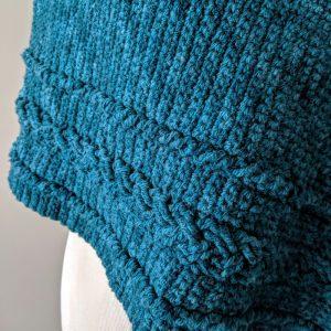 Braided Cable Wrap crochet pattern by Little Monkeys Designs