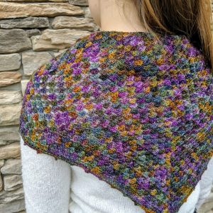 Elizabeth's Shawl crochet pattern by Little Monkeys Designs