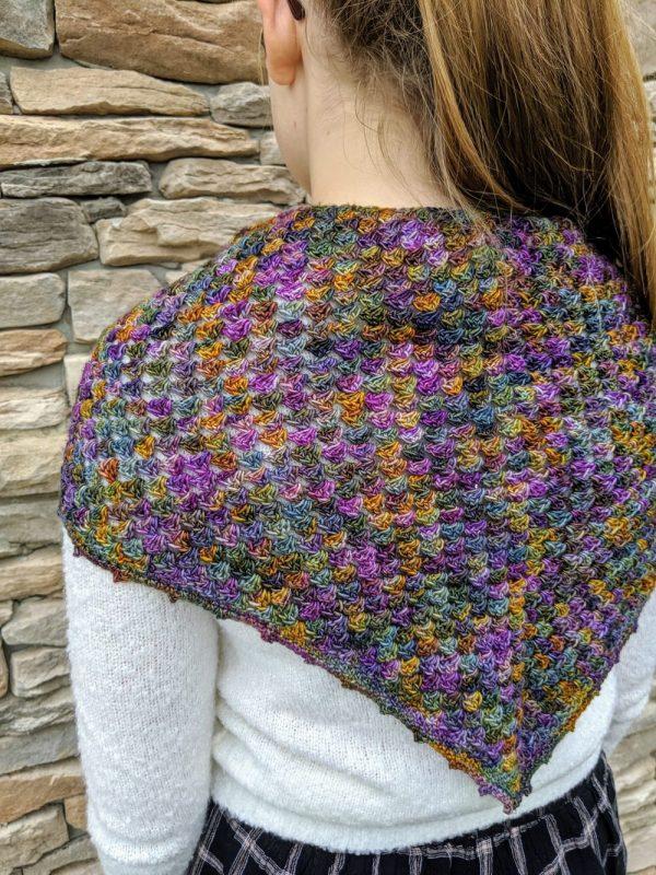 Elizabeth's Shawl crochet pattern by Little Monkeys Designs