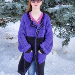 Saturday Morning Cardigan crochet pattern by Little Monkeys Designs - use up your yarn stash