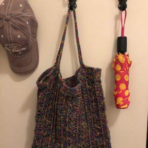 Marla Tote Bag crochet pattern by Little Monkeys Designs - purse crochet pattern