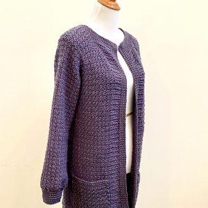 Saturday Morning Cardigan crochet pattern by Little Monkeys Designs - sweater coat pattern
