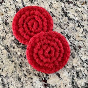 Dish Scrub crochet pattern by Little Monkeys Designs - dish scrubby crochet pattern