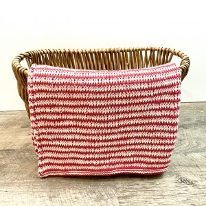 Full of Love Baby Blanket crochet pattern by Little Monkeys Designs - Tunisian crochet baby blanket pattern