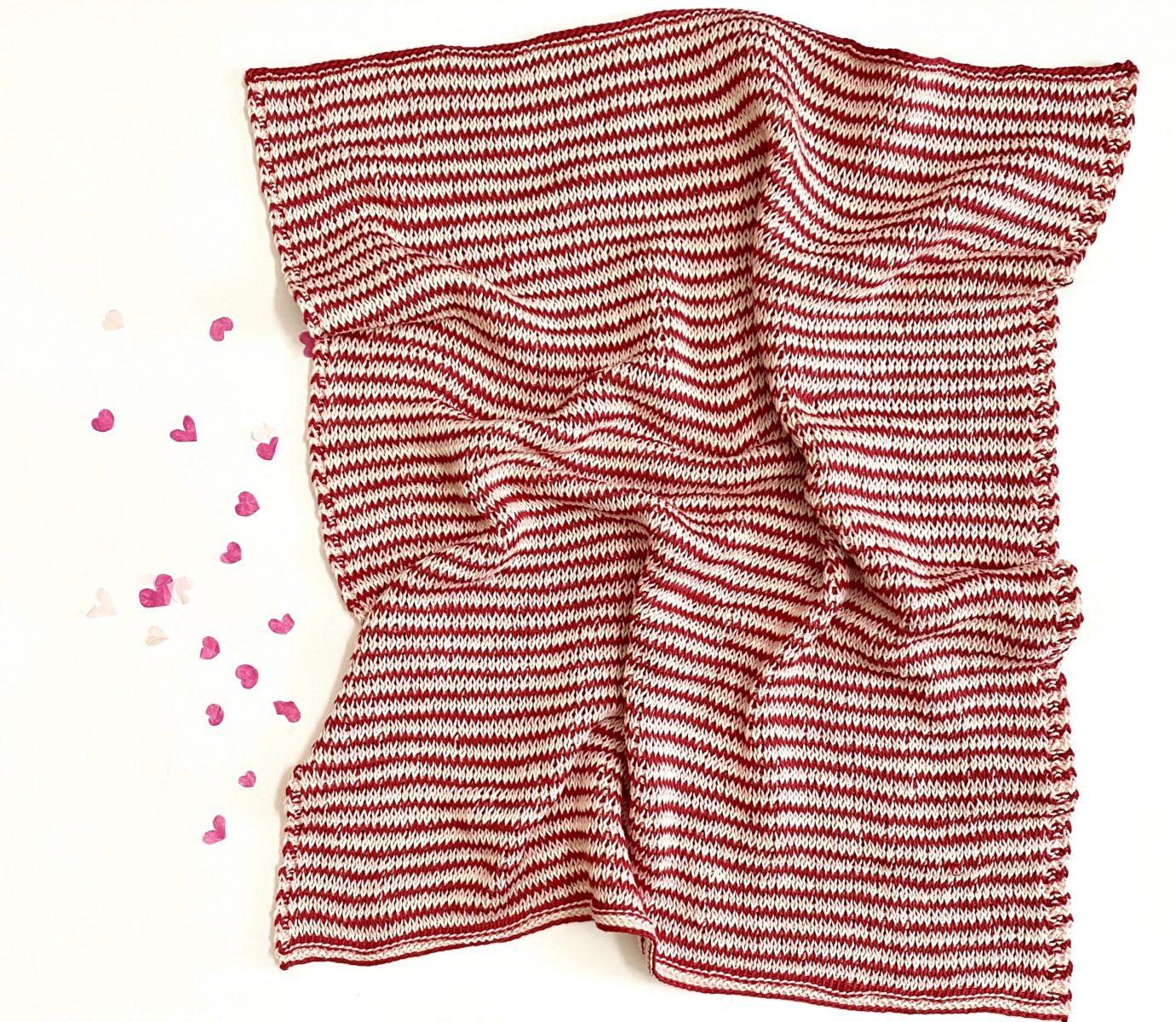 Full of Love Baby Blanket crochet pattern by Little Monkeys Designs