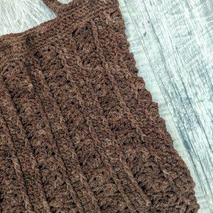 Marla Tote Bag crochet pattern by Little Monkeys Designs - quick Farmers Market bag