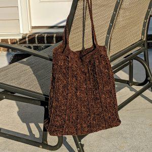 Marla Tote Bag crochet pattern by Little Monkeys Designs
