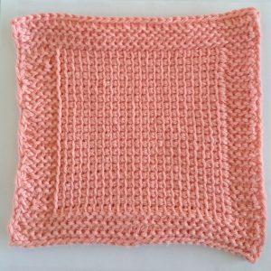 Tunisian crochet mini course by Little Monkeys Designs - Spa Cloth crochet pattern