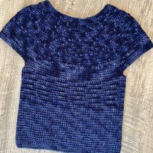 Zaras sweater crochet pattern by Little Monkeys Designs