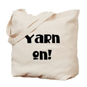 Yarn on Project Bag by Little Monkeys Designs