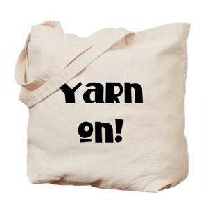 Yarn on Project Bag by Little Monkeys Designs