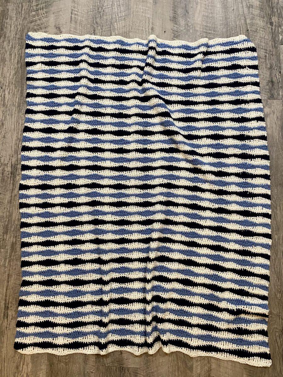 Benjamin Throw crochet pattern by Little Monkeys Designs –