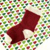 Christmas Stocking Crochet Pattern by Little Monkeys Designs