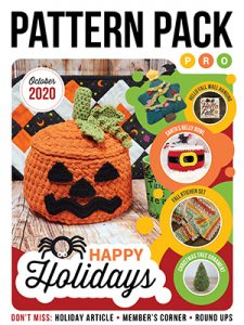 October 2020 Pattern Pack Pro Happy Holidays