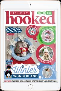 Happily Hooked Magazine December 2020 Winter Wonderland