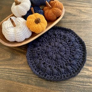 Bubble Hot Pad Crochet Pattern by Little Monkeys Designs