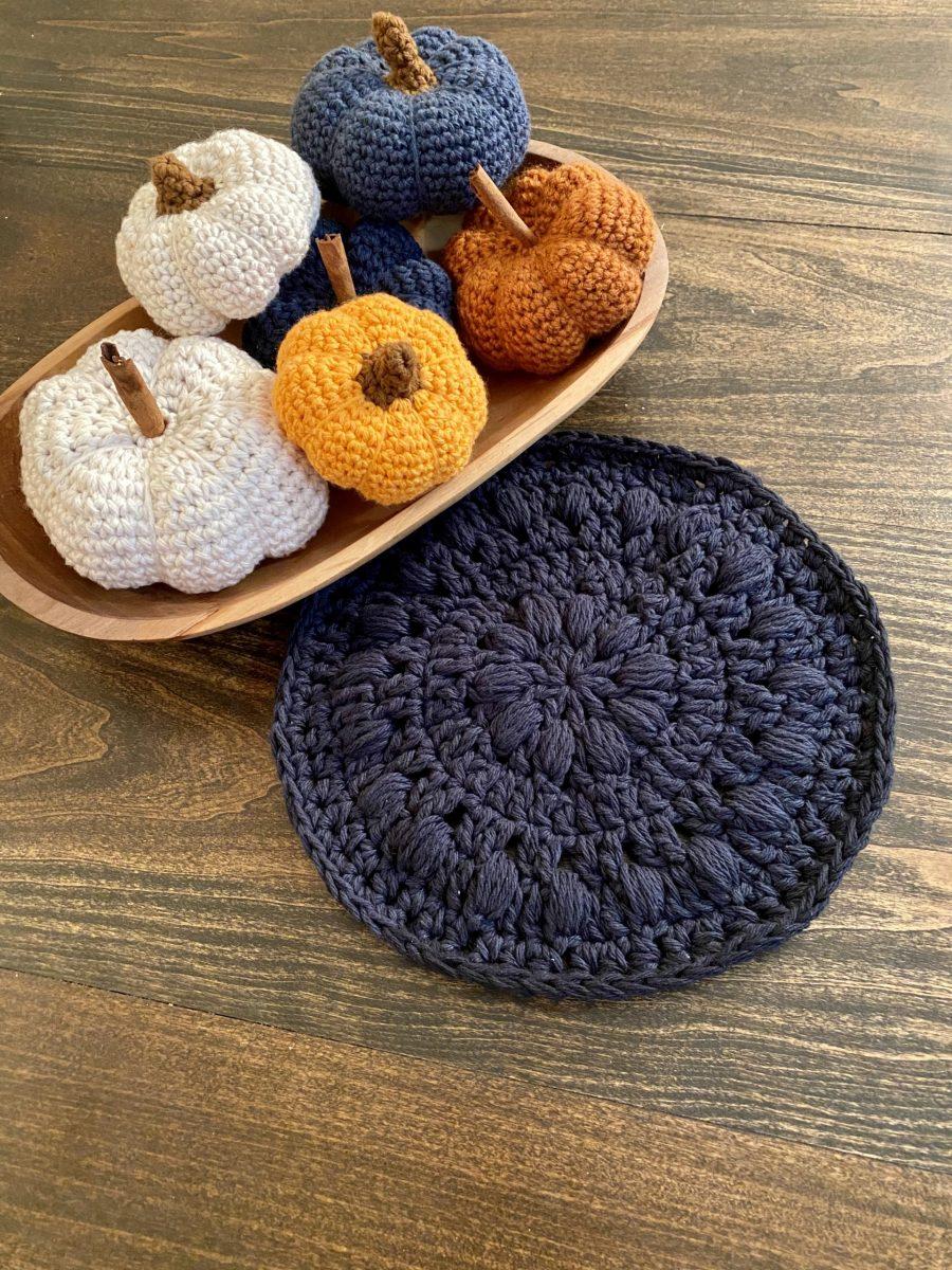 Bubble Hot Pad Crochet Pattern by Little Monkeys Designs